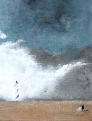 Dans le vent de la lande, 27 x 35 cm, 2005